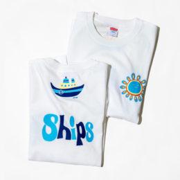 コラボTシャツ「安齋肇 × SHIPS TEE」