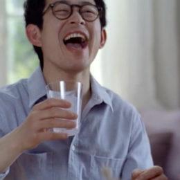 CMミツカン「飲む黒酢」篇